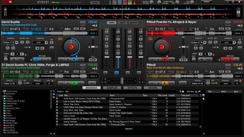Virtual dj 4 decks download