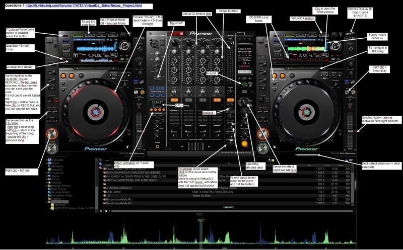 virtual dj pioneer cdj 2000 gratuit