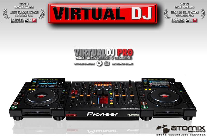 Atomix Virtual Dj Professional 5 0 full Version