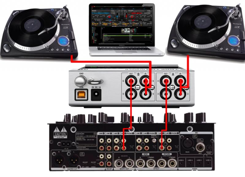 virtual dj software configuration timcode traktor Traktor DJ Studio 2 DJ Software Traktor Pro 2
