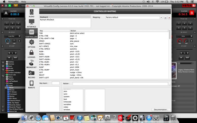 DJ Software - VirtualDJ - Bought a license for my Numark mix