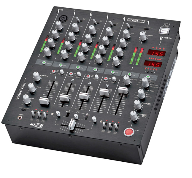 Virtual dj software table de mixage djm 600 for Table de mixage xpress 6 keywood