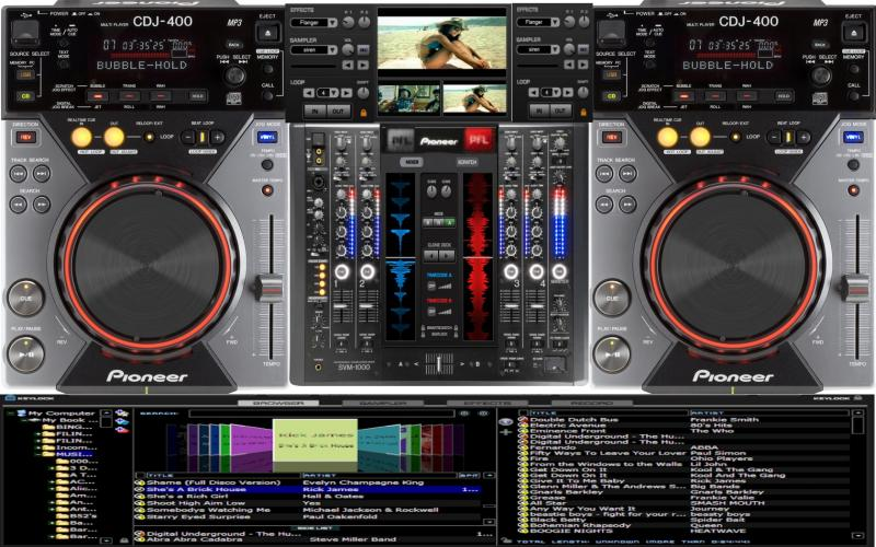 VIRTUAL CDJ-2000 PIONEER DJM-800 DJ TÉLÉCHARGER SKIN