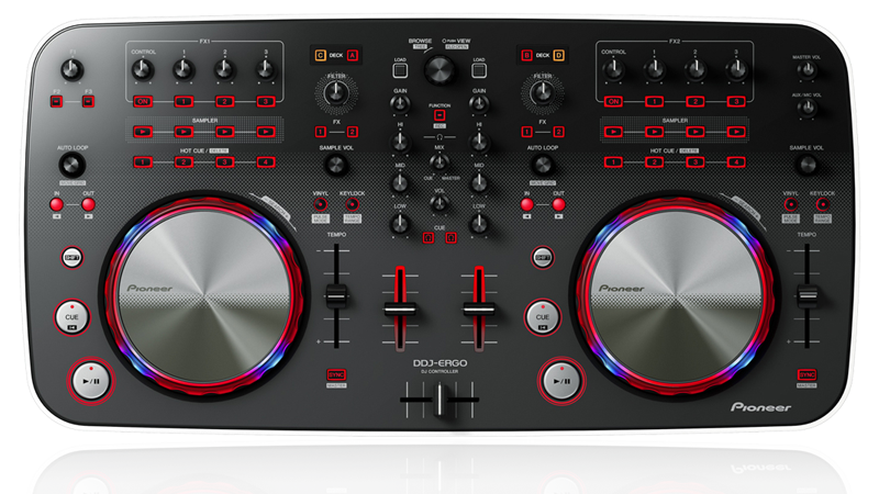 virtual dj platine pioneer